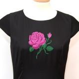 """Rochie – """"Purple Rose"""""""
