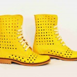 Yellow Summer Boots