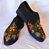 "Pantofi brodati ""Primavera – Etnic"""